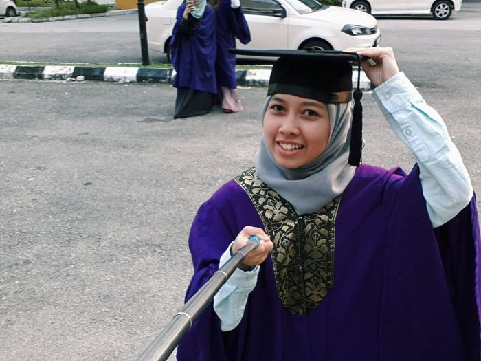 Officially graduated Convocation Universiti Kebangsaan Malaysia