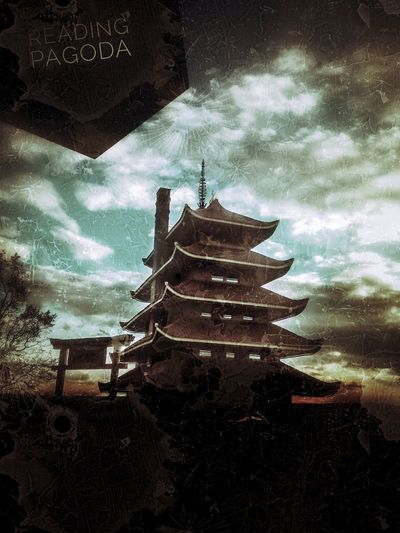 The Reading Pagoda. An image I shot in Reading, Pennsylvania of a pagoda and added some edits to it for mood. Howard Roberts Reading, PA. Design Architecturephotography Lines Cities Art Town Arts Minimal Architectures City Buildings Building Abstract Street Lookingup Beautiful Spirituality Religion History Silhouette Cultures Sky Architecture Built Structure Pagoda Civilization Temple - Building Buddhist Temple