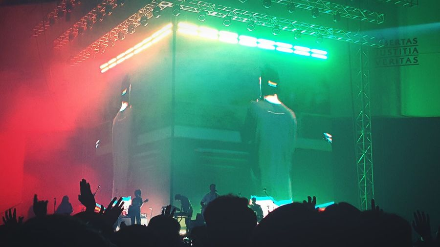 Young & Free Party Dancing Green Color Red Night Nightlife Electronic Seoul Seoul, Korea Korea Alive  Young Free Young & Free  Hillsong Music Lights Popular Music Concert Musician Crowd Fan - Enthusiast Performance Group Audience Illuminated Performance Music Concert Stage Light