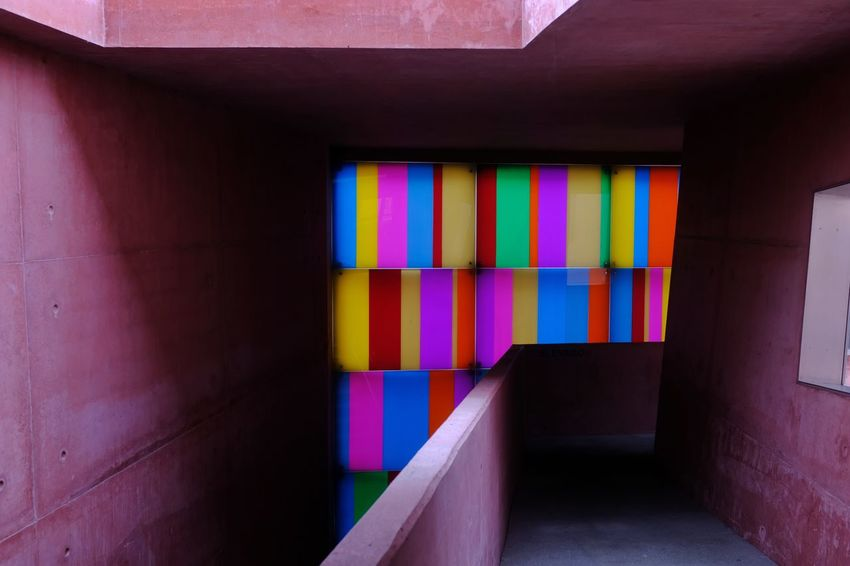 Colors! Threeweeksgalicia Colors Multi Colored Residential Structure Building Architecture Passageway Architectural Detail Built Structure Exterior