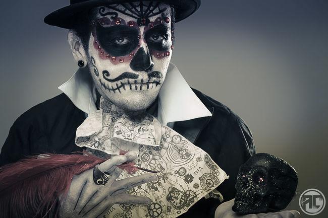 Halloween Headshot Nikon Photoshoot