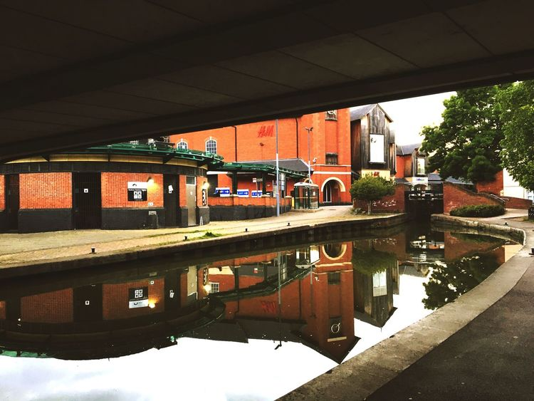 Canal Banbury Water Reflection Architecture Built Structure Transportation Day Bridge - Man Made Structure No People Outdoors Building Exterior Puddle City Tree Nature Sky