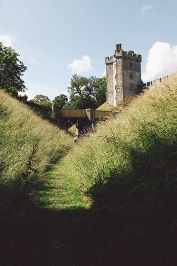 Ancient Architecture Arundel Arundel Castle ArundelCastle Built Structure Castle Castle Cloud Cloud - Sky Day Field Grass Grassy Green Color History Landscape Nature No People Old Old Ruin Outdoors Sky The Past Travel Destinations