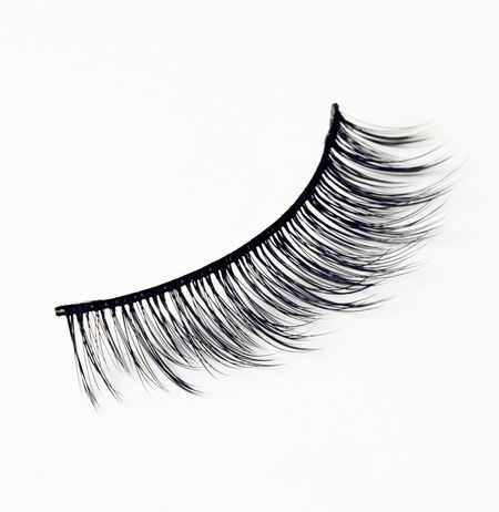eyelash on white background Close-up Eyelash Eyelash Extensions Eyelashes Eyelashes ♡ Eyelashextensions No People Studio Shot White Background