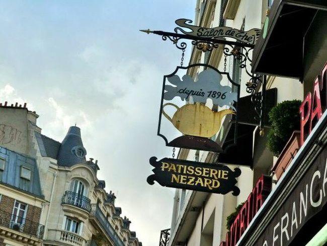 Paris, France  Shop Sign