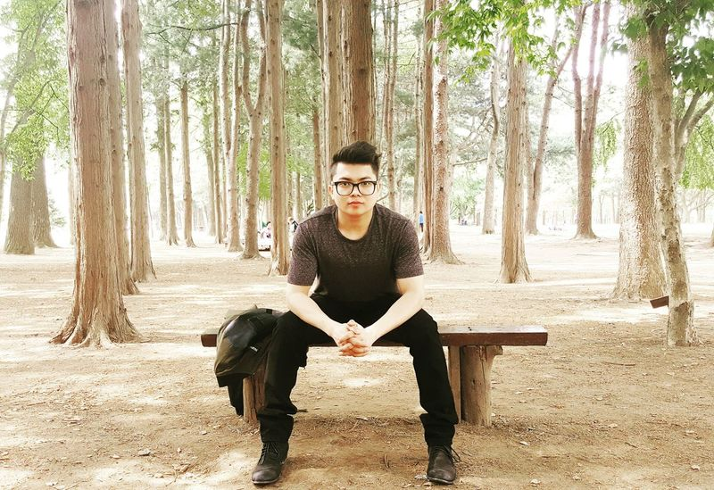 Had Fun Nami Island Being Creative. Expressing Myself.
