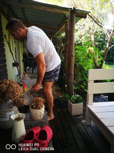 husband Working