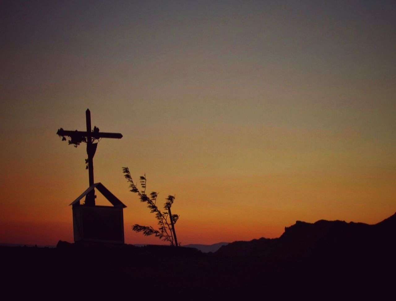 sunset, silhouette, no people, sky, nature, outdoors, wind power, architecture, traditional windmill, beauty in nature, wind turbine, windmill, day