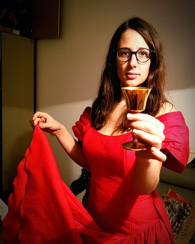 Golden cup red dress girl Red Dress Cinderella Golden Cup Ball Dress EyeEm Selects Only Women Adult Eyeglasses  Adults Only One Woman Only One Person Beautiful Woman Women Beautiful People People Young Adult Beauty Portrait Females Looking At Camera Real People Red Indoors  One Young Woman Only