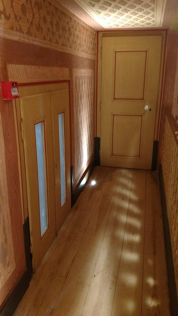 door, indoors, architecture, empty, no people, home interior, domestic room, day