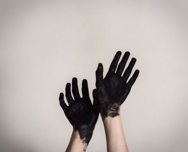 Human Hand Human Body Part One Person Real People Day Indoors  Close-up Adult People Black Moody Moodygrams Spooky Dark Dark Photography Body Paint Hands Tumblr EyeEmNewHere EyeEmNewHere