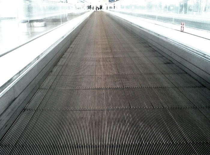 On my way to... Vanishing Point Corridors  Samsung Galaxy Camera Airports