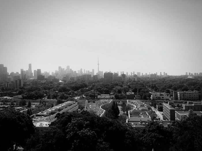 Sky City Tree Architecture Cityscape Travel Destinations Urban Skyline Toronto Casaloma 6 The6ix View From Castle View From Casaloma CN Tower Cloud - Sky Day