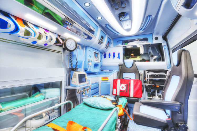 Ambulanze of Italian Red Cross. Interior of an ambulance. HDR version. High key. Soft focus. Ambulance Backgrounds Blood Crash Doctor  Emergency Emergency Response Uni EMS HDR Health Care Heart Attack Ictus Incident Injury Interior Mode Of Transport Modern No People Nurse Paramedic Paramedics Red Cross Rescue Stretch Trasportation