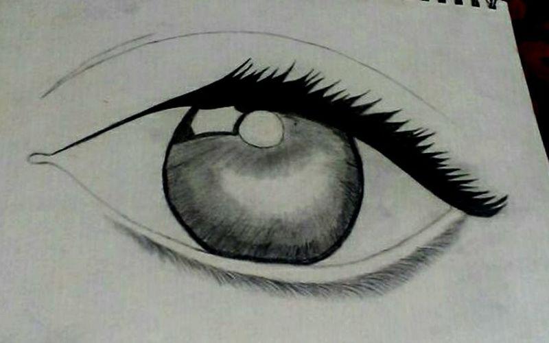 ✏👀Pencil Drawing Eyesketch
