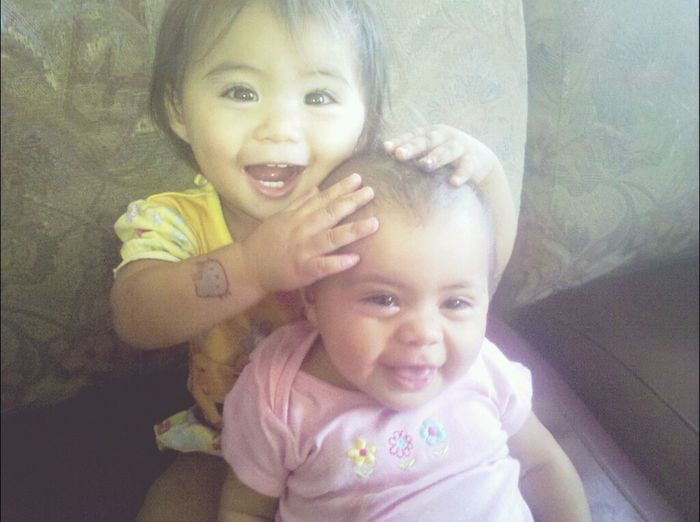 mylittleprincess&her aunty.how cuute