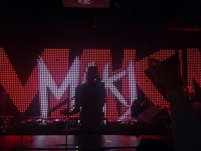 Mak J at SD Club Club Night Dj Edmusic Enjoying Life Frontrow Gaslamp Missingsummer Music Sandiego Sandiego_ca Silhouette Silhouettephotography Thisismylife Thisismyworld For The Love Of Music Interior Views The Mix Up