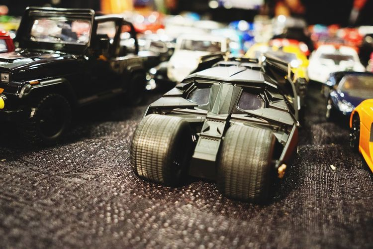 Bat Mobile Toys