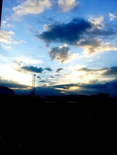 Sun Sunset Cloud - Sky City Day