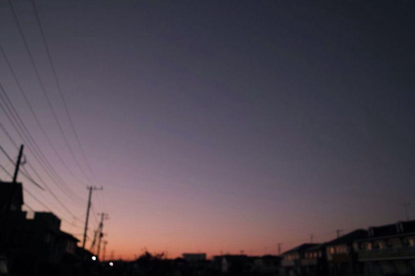 お疲れさまです。 SigmaDP1X Sunset 夕暮れ時 Twilight Afterglow おつかれさま