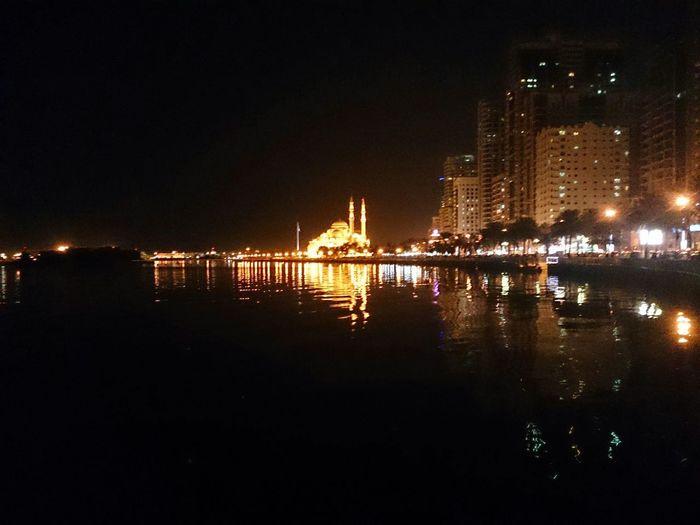 مسجد النور منظر ليلي Masjed Alnour SHJ Hz339 Masjed  A View From Sharjah Streetphotography