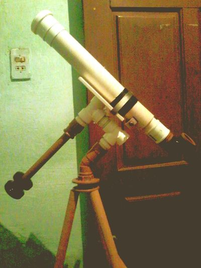 My telescope Pipe - Tube Indoors  No People Close-up Day First Eyeem Photo