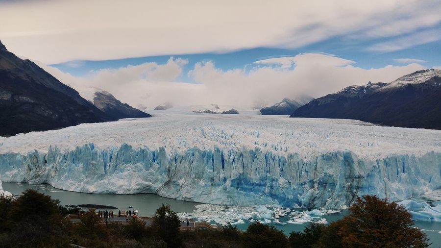 Patagonia Argentina Glacier Winter Snow Scenics - Nature Beauty In Nature Cold Temperature Sky Environment Ice