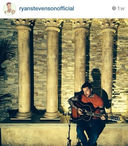 He is pretty cool one :) so go follw him on ig @ryanstevensonofficial Man With Tattoo Tattoo