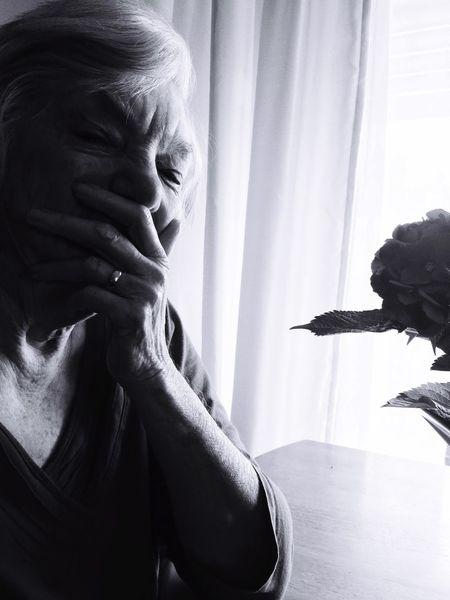 Grief Loss Portrait Portrait Of A Woman Death Blackandwhite Window Elderly Marriage  IPhoneography Mobilephotography EyeEm Best Shots Eye4photography  EyeEm Gallery EyeEm EyeEmBestPics Telling Stories Differently Learn & Shoot: Single Light Source EyeEm Portraits