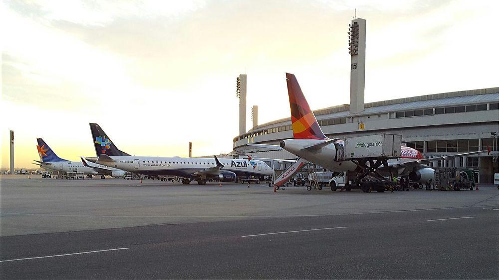 Aeroportogaleão Gig Airpot Aeroporto GALEÃO Aeroportointernacionalgaleão At Aeroporto Internacional Do Rio De Janeiro / Galeão (GIG) Sunset
