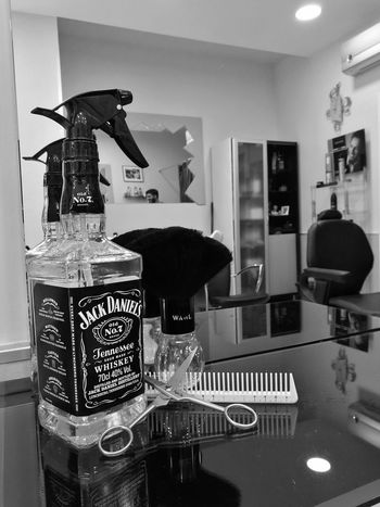 Monochrome Photography Barber Barber Shop Barber Life Barberstyle Jack Daniels Whiskey Huaweiphotography Dramatic Angles
