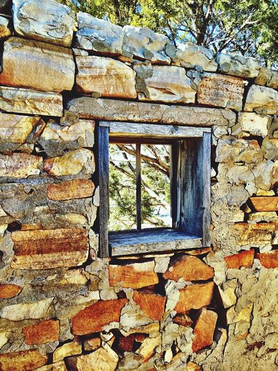 """""""Focused View"""" A tiny window in the stone wall of an abandoned old ranch house in Central New Mexico, allows for a narrow view of the world outside filtered by Juniper trees. Newmexicophotography NewMexicoTRUE Newmexico Abandoned Buildings Abandoned Ranchhouse Ruraldecay RuralExploration Abandoned Places"""