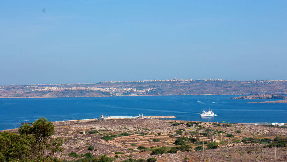 Gozo View From Mellieha Adobe Beach Canon Go Pro Photography Hobbyphotography Malta Mellieha Photographer Sunny Day
