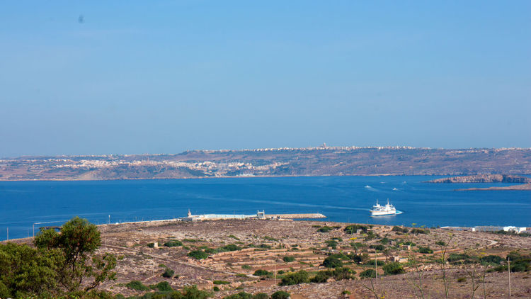 Gozo View From Mellieha Adobe Beach Canon Go Pro Photography Hobbyphotography Malta Mellieha Photographer Sunny Day
