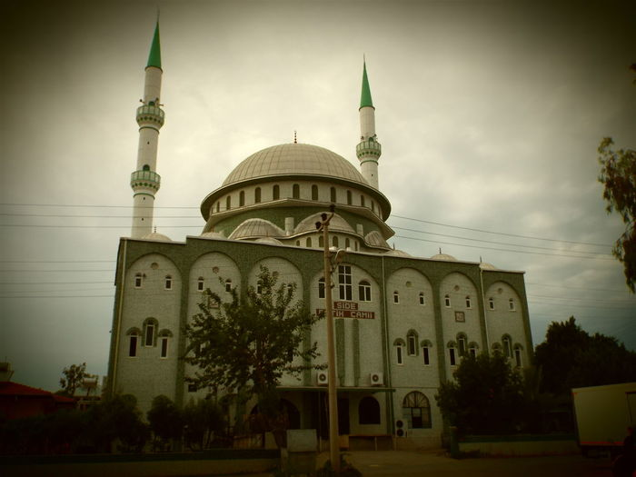 Mosque Place Of Worship Side, Turkey 💗 Side