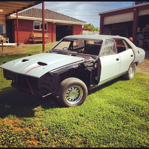 Dads new project Ford Xb  Muscle Ohgod jjwilltakeafewyears fatfalcs instacar dprox