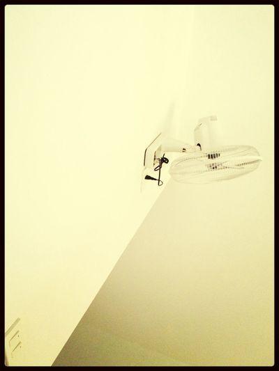 Fan on the wall