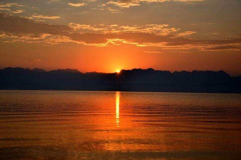 Atmosphere Beauty In Nature Beauty Of Montenegro Calm Idyllic Lake Landscape Light Reflection Skadarsko Jezero Sky Sun Water Traveling