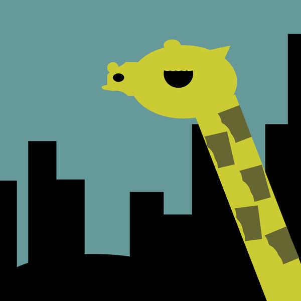 Animal Themes Art And Craft Buildings Close-up Creativity Geometric Shape Giraffe♥ Save Save The Nature Save The World Save Wildlife Savetheplanet Vibrant Color Wildlife Yellow