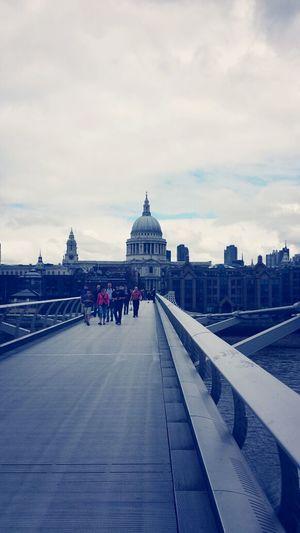 View Of St Pauls Bridge