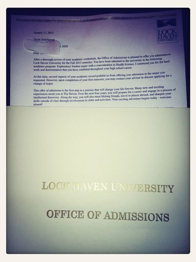 Got Accepted To My Future College #LHU