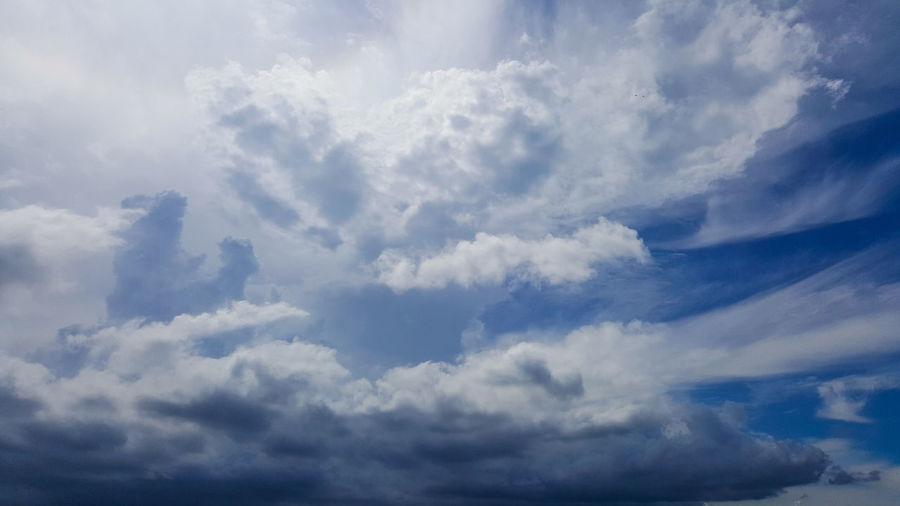 Big clouds in