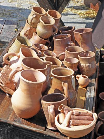 Renaissance Festival,Koprivnica 2016, earth-enware, 21 Abundance Baked Clay Clay Collection Craftmanship Creativity Croatia Drink Eu Europe Fair Koprivnica Oldfashioned Renaissance Festival Summer Tray