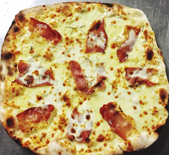 Pizza Food Cheese Baked Food And Drink Ready-to-eat Indulgence Italian Food No People Temptation Freshness Unhealthy Eating Indoors  Fast Food Close-up Day