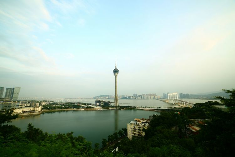 Macau (Direct-out) Hanging Out Taking Photos Check This Out Hello World Relaxing Enjoying Life People Watching Light And Shadow Clouds And Sky Things I Like Evening Sky Macau
