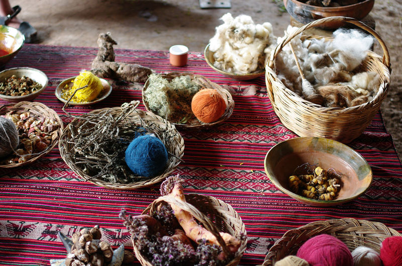 Peru Tissue Travel Abundance Ancient Civilization Ball Of Wool Basket Bowl Chinese Food Choice Close-up Container Day Discovery Food Food And Drink Freshness Healthy Eating High Angle View Indoors  Large Group Of Objects Natural Medicine No People Peruvian Plate Sacred Valley South America Still Life Table Taint Tainted Textile Tourism Variation Wellbeing The Photojournalist - 2019 EyeEm Awards