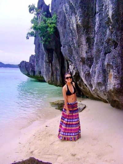 Wonder Skirt.  Coron, Palawan , Philippines