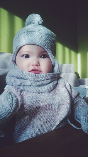 My Winter Favorites Baby Cute Bigeyes Winter Gloves Cap