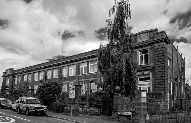 George J Cox footwear factory, Westfield Road, Wellingborough, Northamptonshire Architecture Monochrome Black And White FUJIFILM X-T10 Wellingborough Northamptonshire Fujifilmxt1 Architecture Factory Urban Industrial