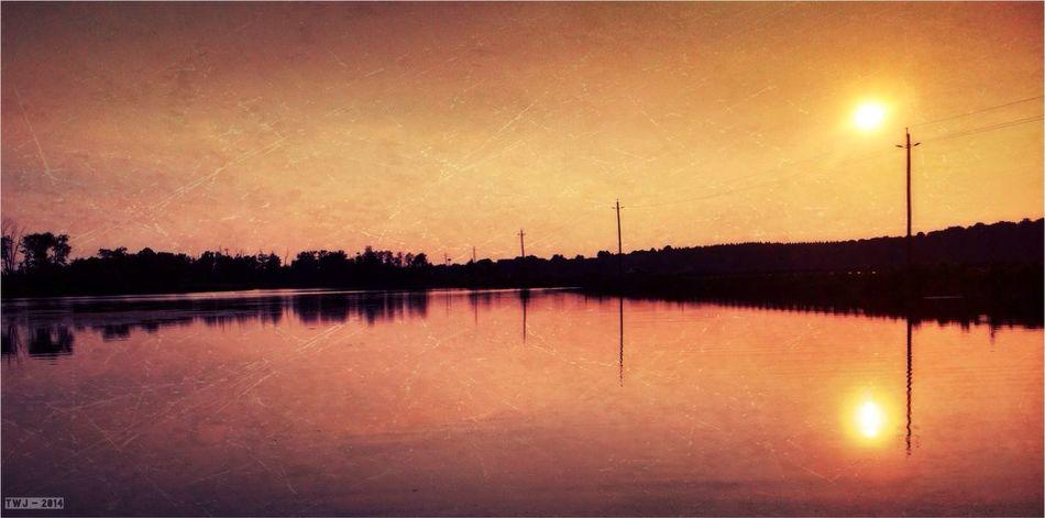 Brucegreysimcoe Eugenia Lake Sunset Lake View